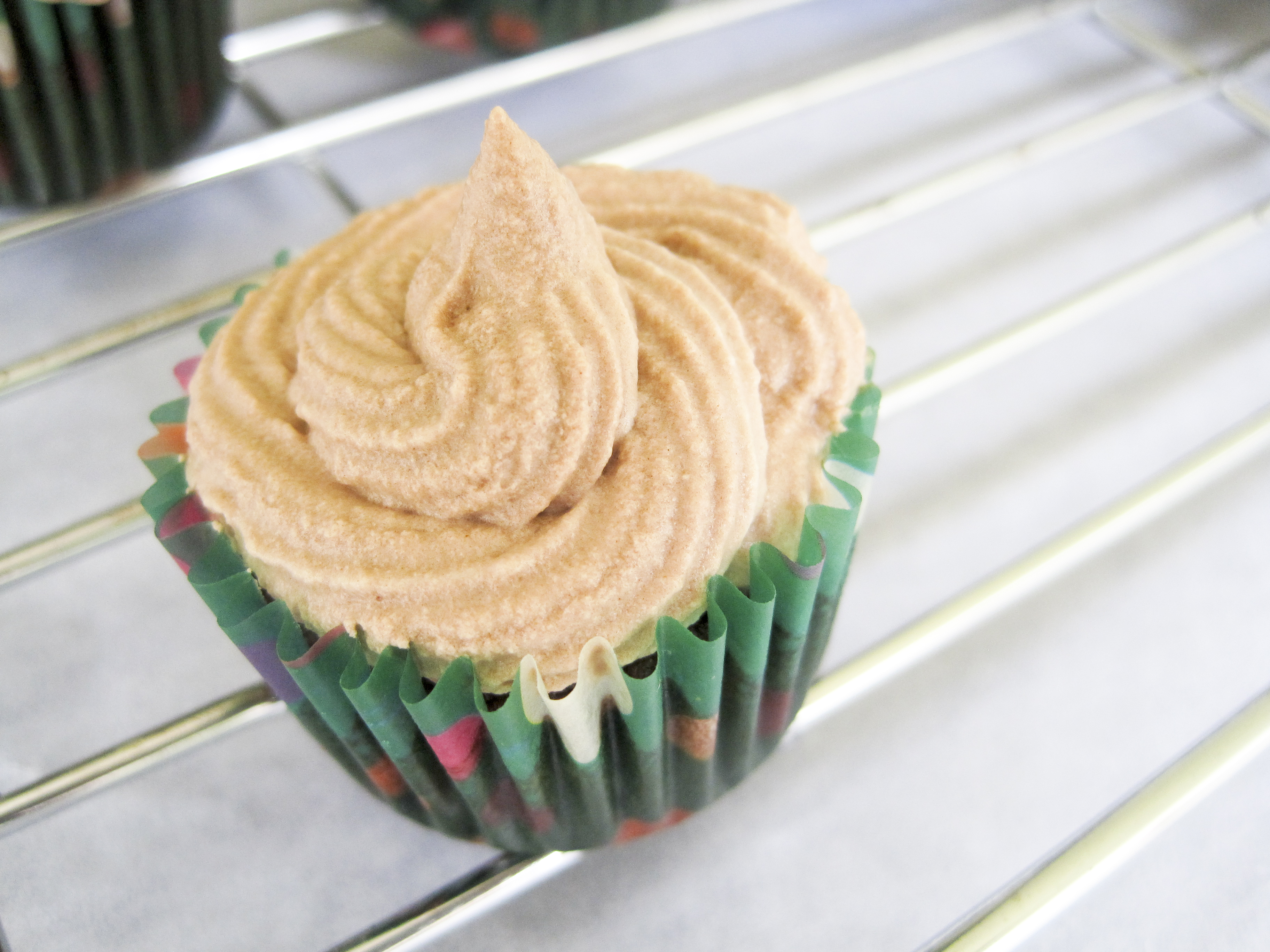 Espresso Fudge Cupcakes with Buttercream Frosting