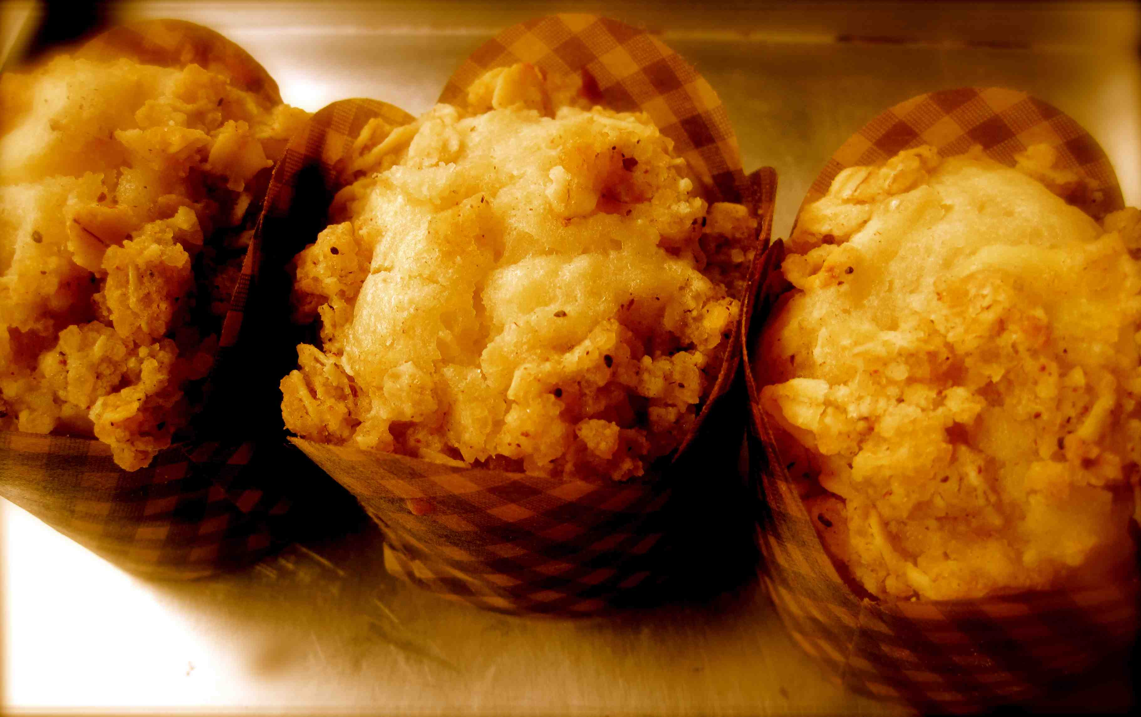 Apple Rolled Oats Cider Muffins