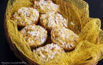Banana Coconut Muffins | March 12, 2012
