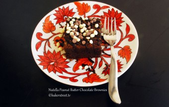 Nutella PB Chocolate Brownies4-4