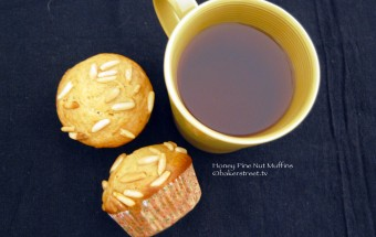 Honey Pine Nut Muffins 1