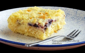 Blueberry Lemon Cream Cheese Coffee Cake