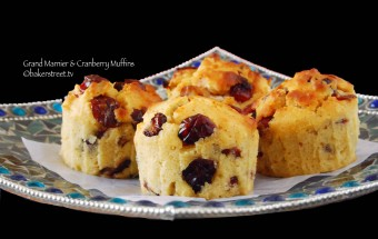Grand Marnier and Cranberry Muffins