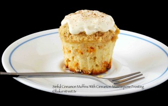 Sinful Cinnamon Muffins | Nov 26, 2012
