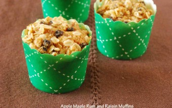 Apple Maple Rum and Raisin Muffins2