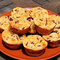 Stacy | Food Lust People Love | Loaded Baked Potato Muffins