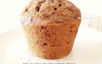 Apple Pie Spice Mix and Cranberry Muffins
